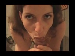 POV guy gets lucky with lusty chick