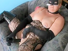 Incredible Amateur video with Mature, Solo scenes