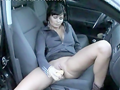 Crazy Homemade clip with Toys, Brunette scenes