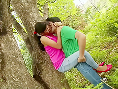 College Indian Couple Fucking Public In Forest