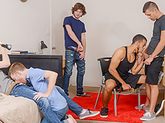 Blissful Pounding Gay Porn Video - DickDorm