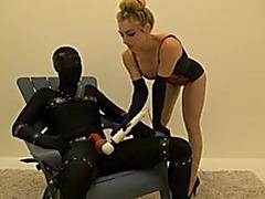 Milking chair female-dominant