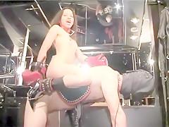 Incredible amateur Femdom, Fetish adult scene