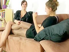 Fabulous amateur Foot Fetish adult video
