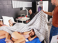 Liv Revamped & Jaye Summers & Ella Knox in Dorm Shenanigans - GFRevenge