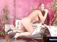 Pretty  Kathy dildo fucking her sweet vagina