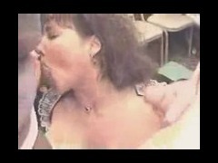 Dick cums on big boobs