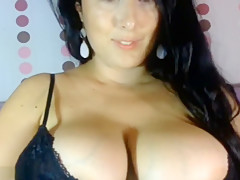 Woman Is Toying With Her Tits