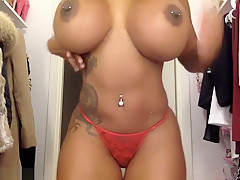 Top Heavy Chick Strips Naked