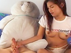 Perky Tits Asian Cutie Sucks And Fucked From Behind - RealAsianExposed