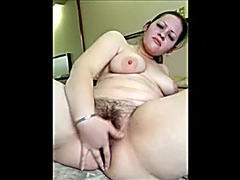 Mischievous PAWG black brown pleases her unshaved trench