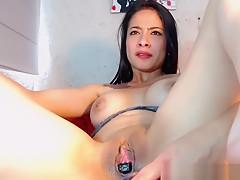 Lustful Teen Model Is Masturbating Tenderly