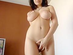 Redhead Fatty Show Her Boobs