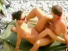 Beach Blowjob Voyeur
