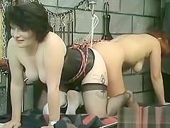 Rough Lesbian Bondage In Amateur Scenes Along Sweethearts