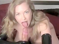 Pov Attractive Blonde Sucks Penis And Requires Deep In Vagi