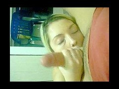 Homemade POV blowjob with a cumshot at the end