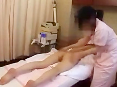 Beautiful Oriental lady relinquishes her sexy slim body to