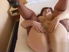 Mature Woman Teasing Her Pussy
