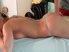 Steamy sexy body massage