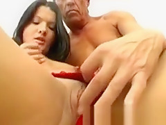 Old cock finds a young girl