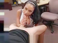 Pov doggy cumshot Big breast Latina is a tart for some cash