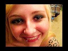 Chubby pierced n tatooed girl facial porn