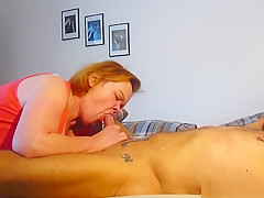 Wife Makes Her Man Come With A Blow And A Rim Job
