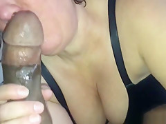 Big ass while milf gets creampied by a BBC