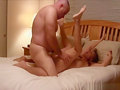 Couple having hot passionate sex