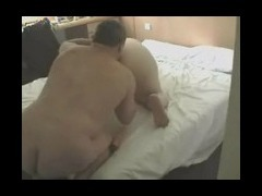 Fat ass dildoed from rear