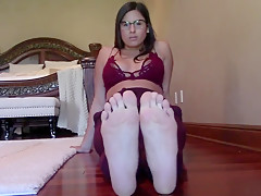 Foot Fetish Mind Control in Glasses 2