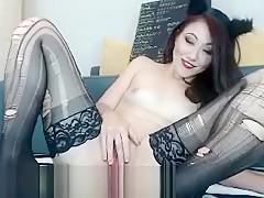 Hot babe gives asian fetish massage and fucks big cock Part 05
