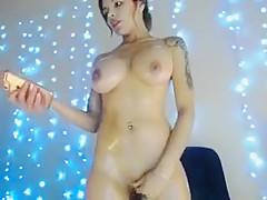 Magical Brunette Milf Ophelia Posing On Webcam Part 01