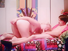 4th of July double fuck 1 dildo 1 cock
