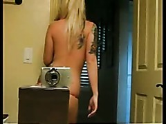 Emo Webcam Babe Dancing Nude