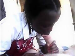 African Massage Blowjob-