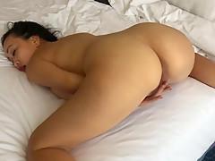 Horny Asian Mom Wet Pussy Play