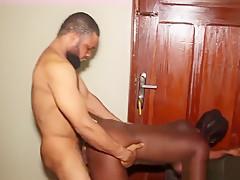 Big Black Ass African Girl From Congo Twerk And Got Fucked-