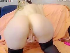 Italian girl big ass play