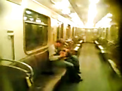 BJ on the subway on security cams