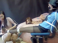 chinese police bondage-