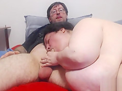 BBW gives Blowjob part 2