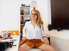 Boss Dick got Hard at the office