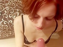 Ukrainian Ex-girlfriend blowjob