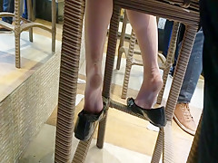 Compilation amazing soft soles arched feet in flats
