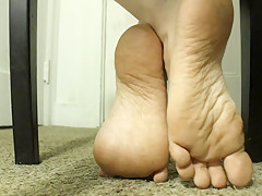 Restless Feet under Chair