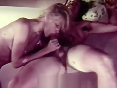 Couple Sensual Fucking in a Waterbed (1960s Vintage)