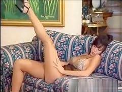Pamela Laveux - Sheer Lingerie Strip