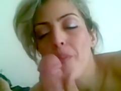 Superhot persian blonde milf Blowjob
